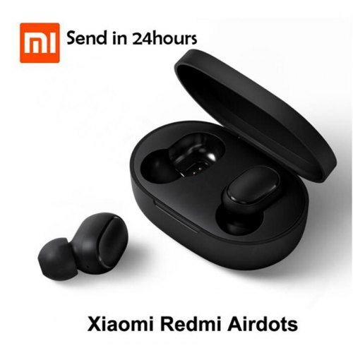 Xiaomi Wireless Earphone Mini IPX4 Waterproof Millet Bluetooth Headset with Silicone Ear Caps- Black China