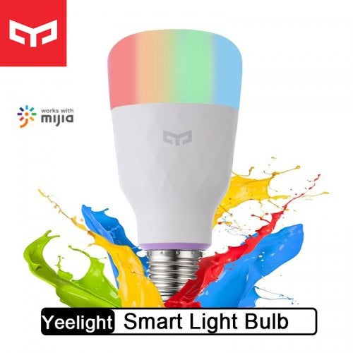Yeelight Smart LED Bulb Colorful Smart Lamp For Mi Home App-Xiaomi Ecosystem Product- White Version China