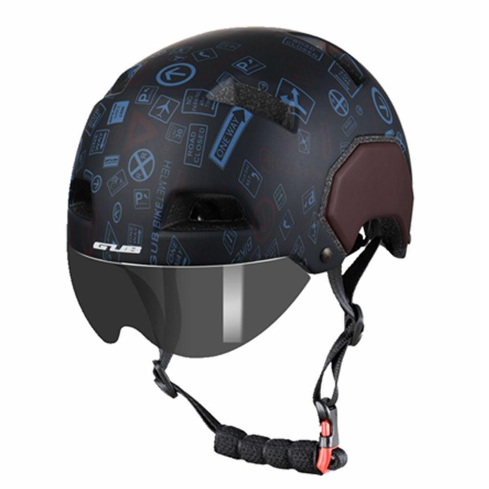 Cycling Helmet Unisex Helmet With Goggles Cycling Helmet Helmet