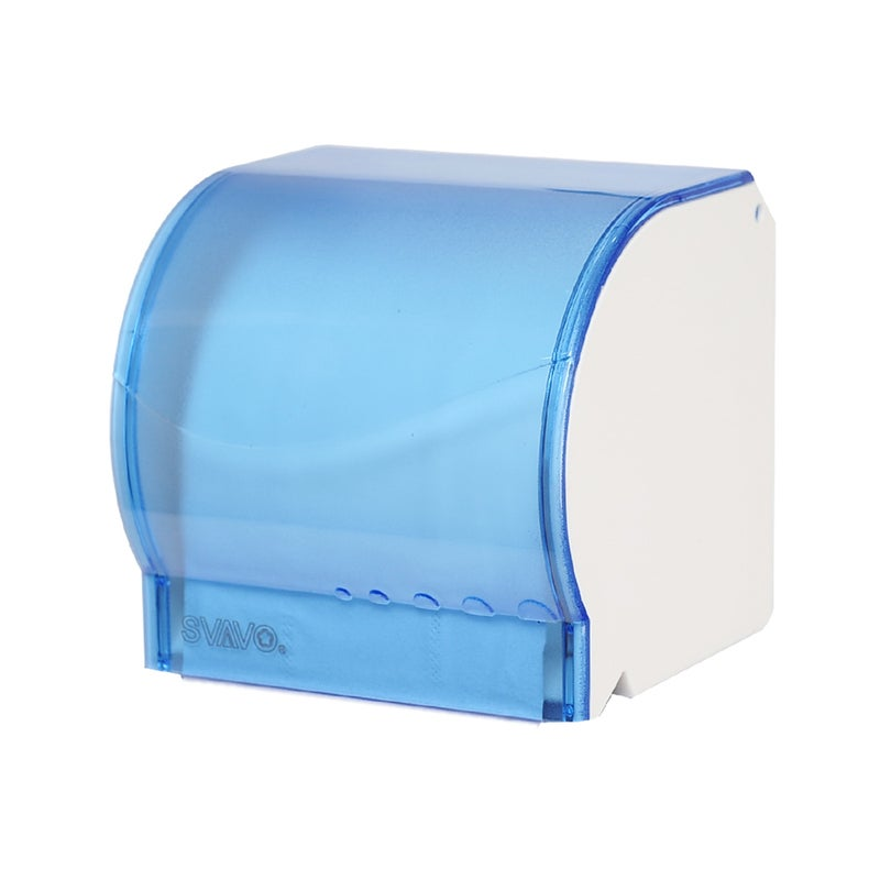 Toilet Tissue Box Toilet Roll Paper Tube Wall-Mounted Non-Perforated Pumping Box Toilet Paper Holder