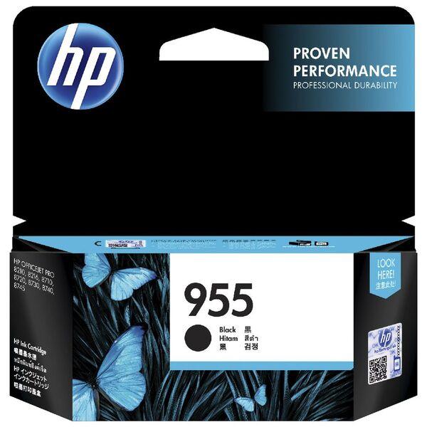 Genuine HP 955 Black Ink Cartridge (L0S60AA) - 1,000 Prints