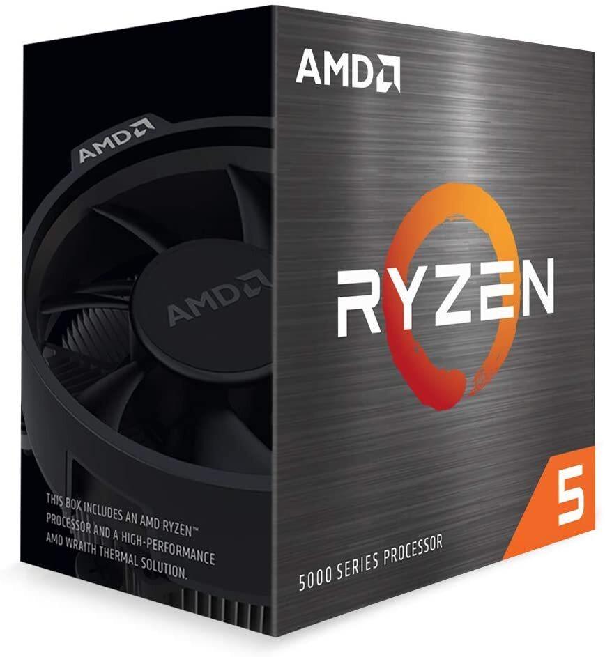 AMD Ryzen 5 5600X Zen 3 CPU 6C/12T TDP 65W Boost Up To 4.6GHz Base 3.7GHz Total Cache 35MB Wraith Stealth Cooler (AMDCPU) (RYZEN5000)(AMDBOX)