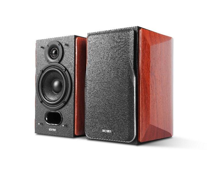 Edifier P17 Passive Bookshelf Speakers - Premium Wooden Enclosures/3/4inch Silk Dome Tweeters/4inch Bass Drivers/Wall-mount Brackets