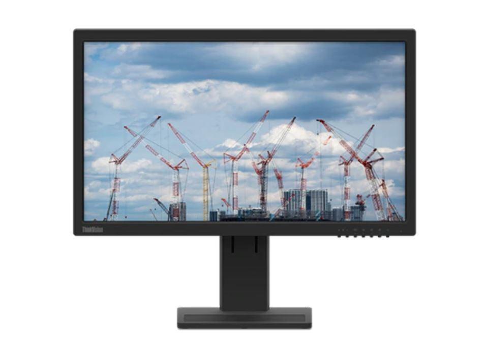 LENOVO ThinkVision E22-20 21.5' FHD WLED Monitor - 1920x1080, IPS, HDMI, Tilt, Pivot, Height Adjustment, 3YR WTY (62A4MAR4AU)