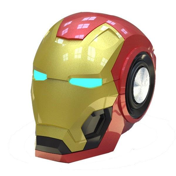 Iron Man Bluetooth Speaker Marvel Avengers wireless eye with light kids gift