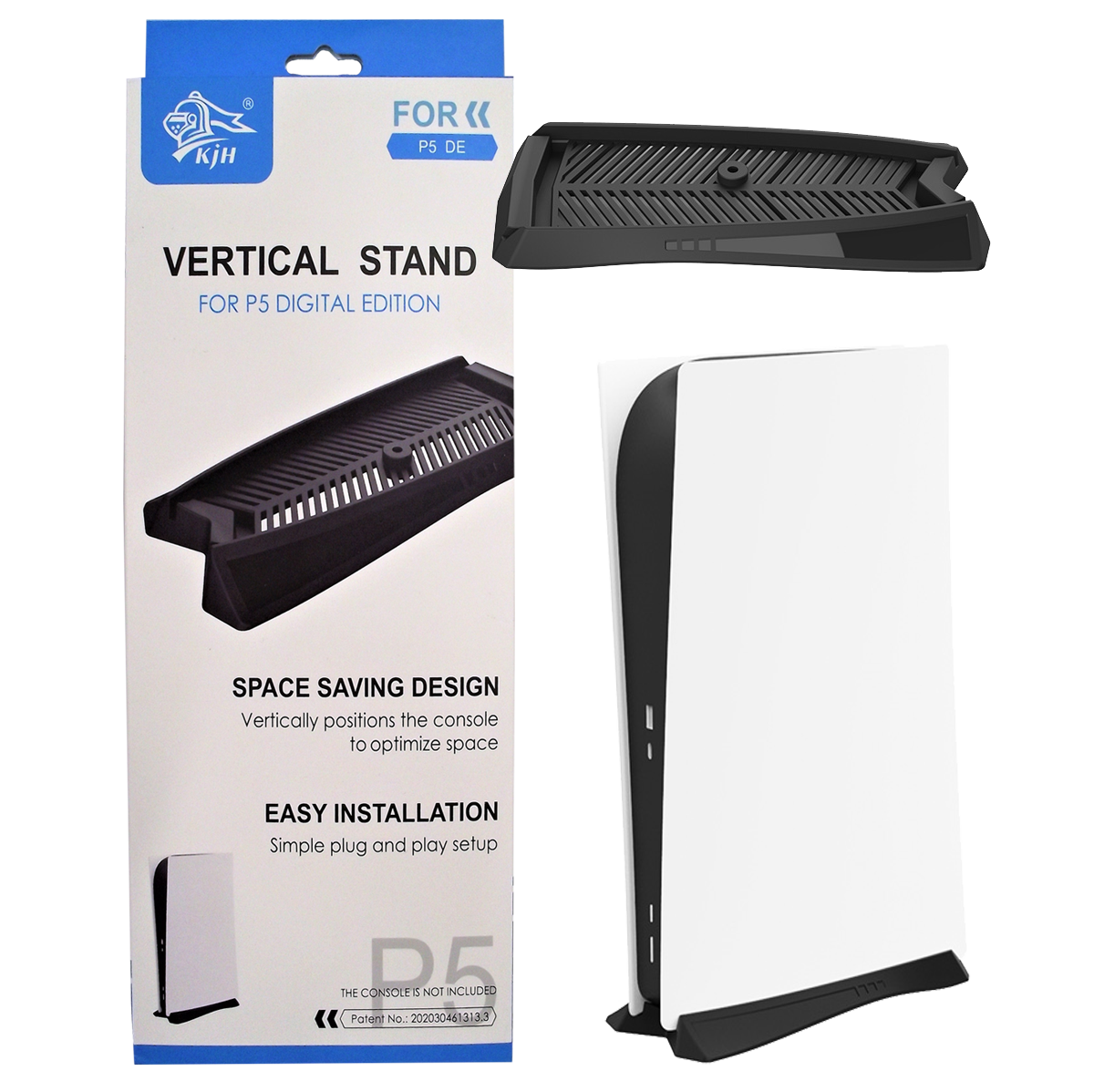 Vertical Cooling Stand for PS5 Digital Version Playstation 5