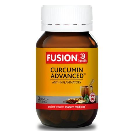 Fusion Health Curcumin Advanced 60Caps Curcumin C3