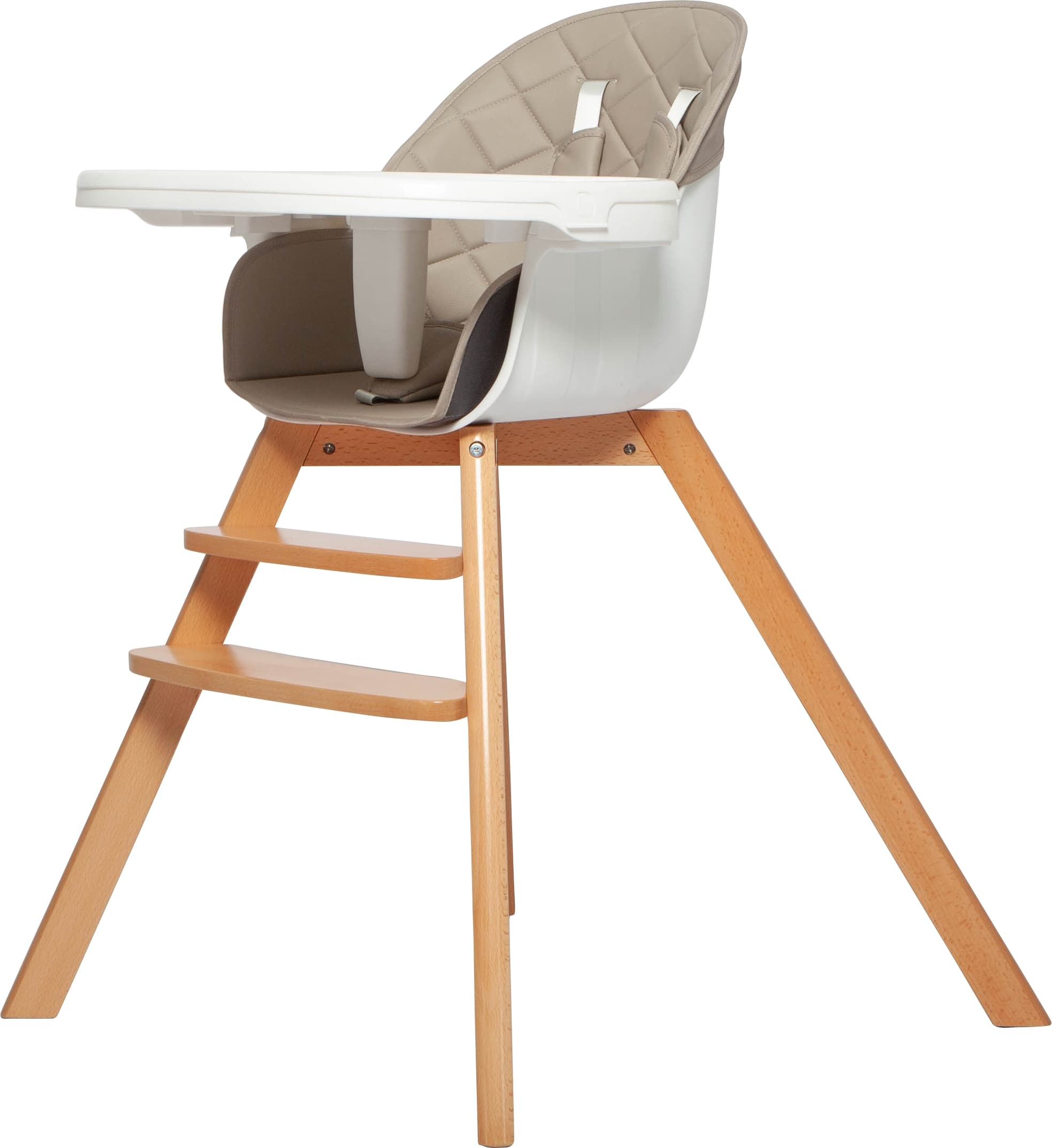 Grotime Birch High-Low Chair - Desert Grey