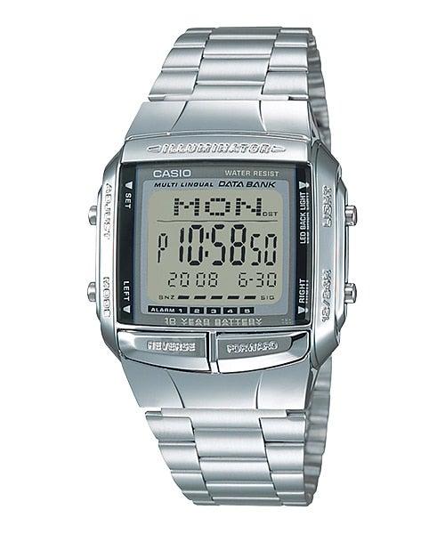 Casio Watch Men's DB-360-1A DB360 Vintage Retro 80's 30-Telememo 5 Alarms