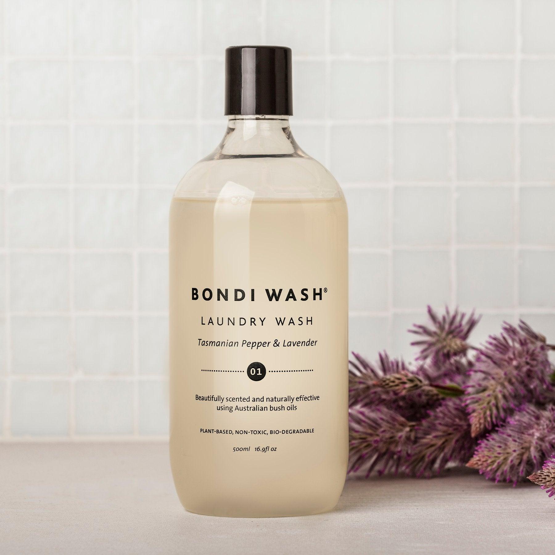 BONDI WASH LAUNDRY WASH - TASMANIAN PEPPER & LAVENDER