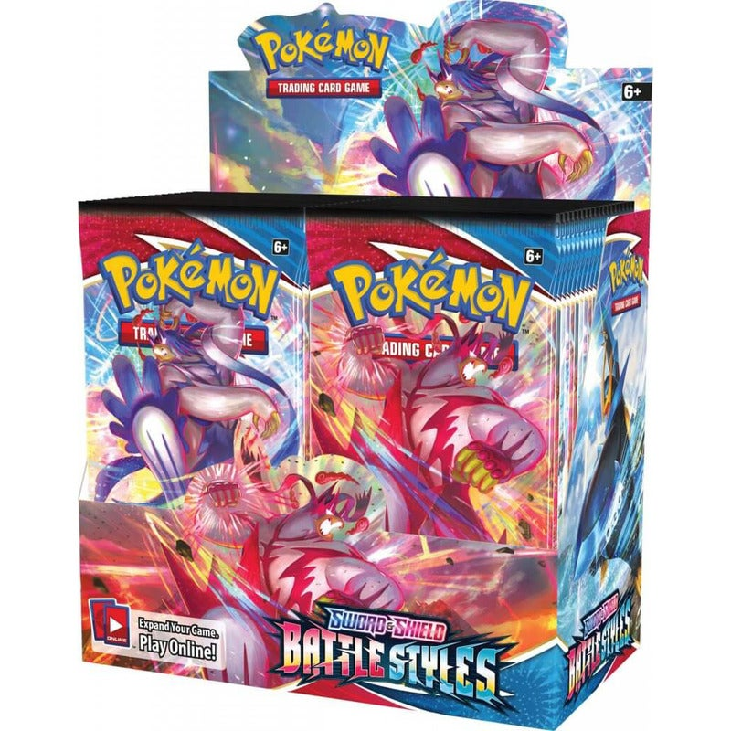 POKEMON TCG Sword and Shield - Battle Styles Booster Box (6 Boxes)