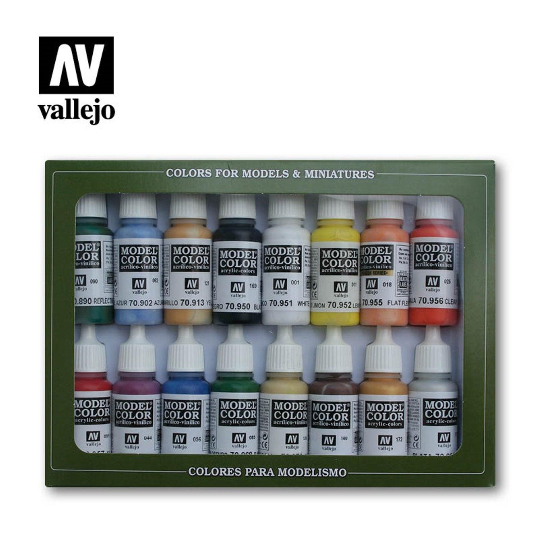 Vallejo 70111 Model Colour American Civil War 16 Colour Acrylic Paint Set