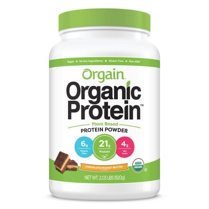 Orgain Organic Protein(TM) Plant Based Protein Powder - Chocolate Peanut Butter 920g