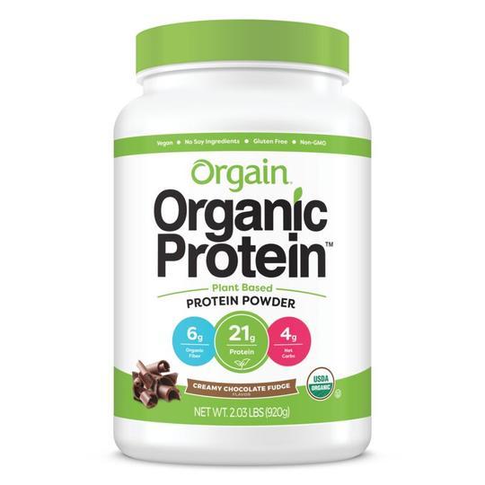 Orgain Organic Protein(TM) Plant Based Protein Powder - Creamy Chocolate Fudge 920g