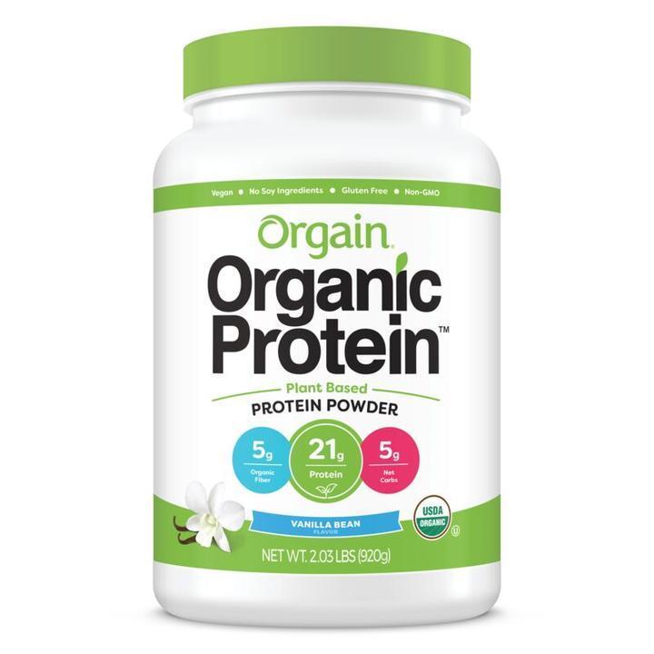 Orgain Organic Protein(TM) Plant Based Protein Powder - Vanilla Bean 920g