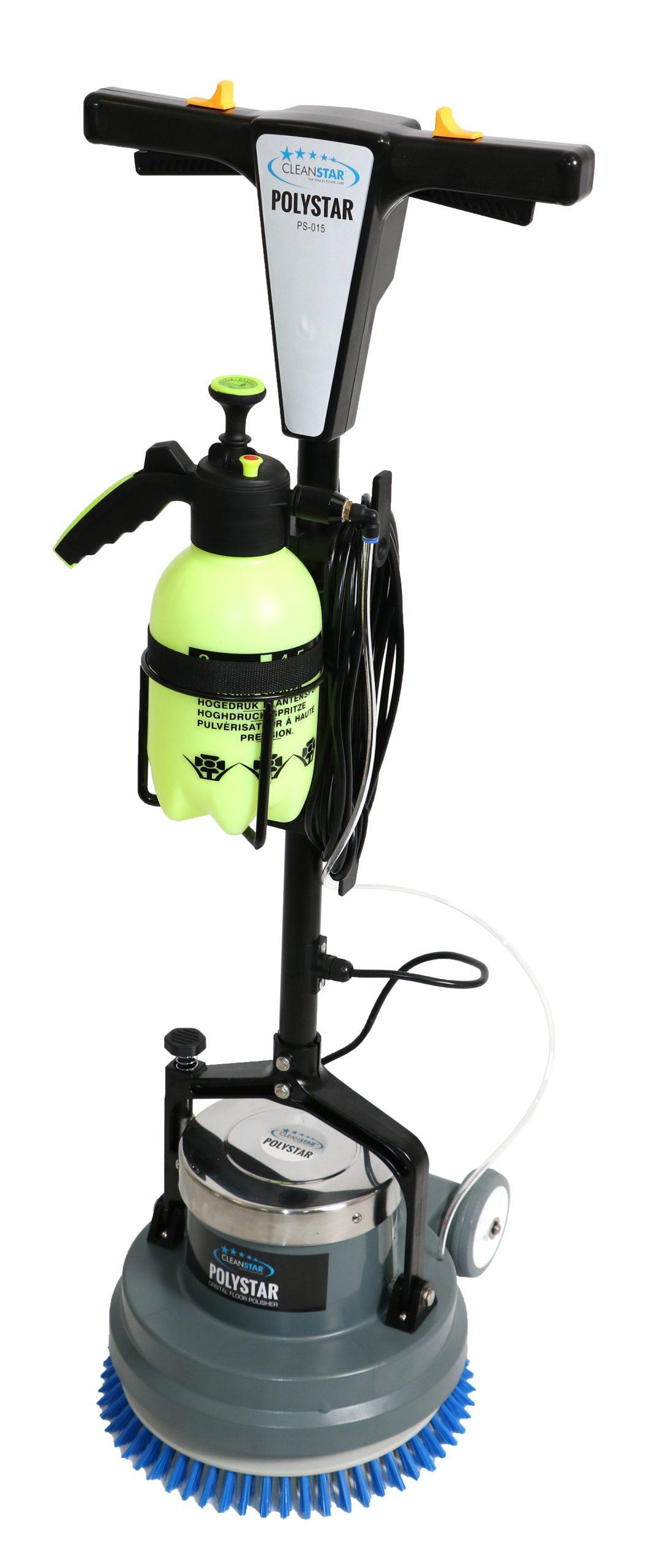 Polystar 15-inch Orbital Floor Polisher & Cleaner