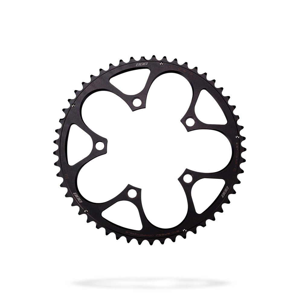 BBB CompactGear Campag Ut/Pt Compact To 2008 Small - Black Size 53t
