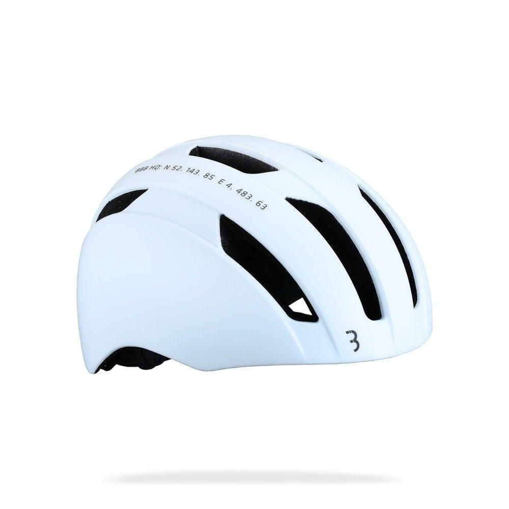 BBB Metro Helmet - Matt White Size M/L