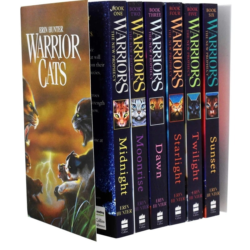 Warrior Cats Series 2: The New Prophecy by Erin Hunter 6 Books Set