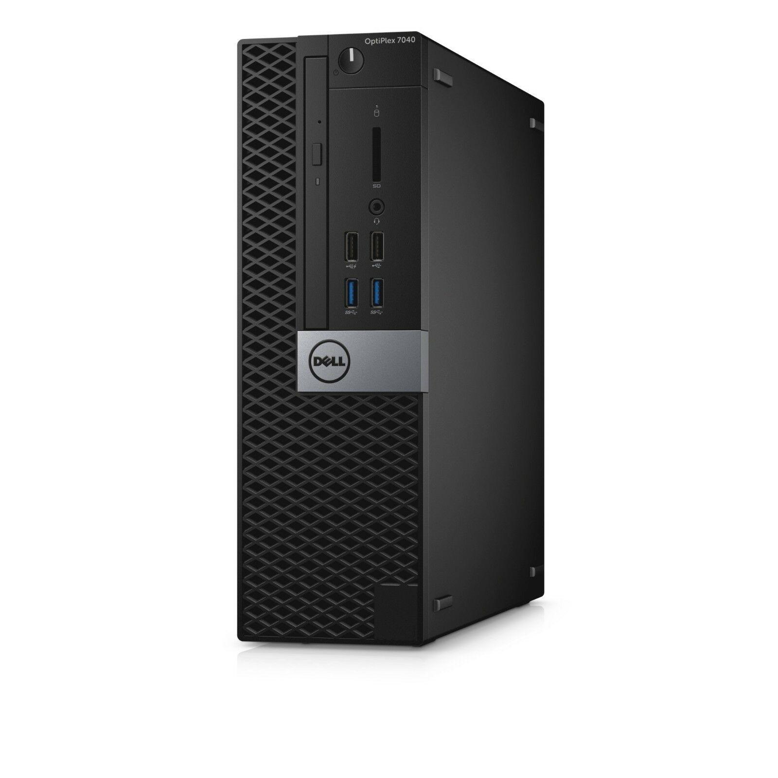 Dell Optiplex 7040 SFF Intel i5 6500 3.2Ghz 8Gb Ram 500 HDD DVD HDMI Win 10