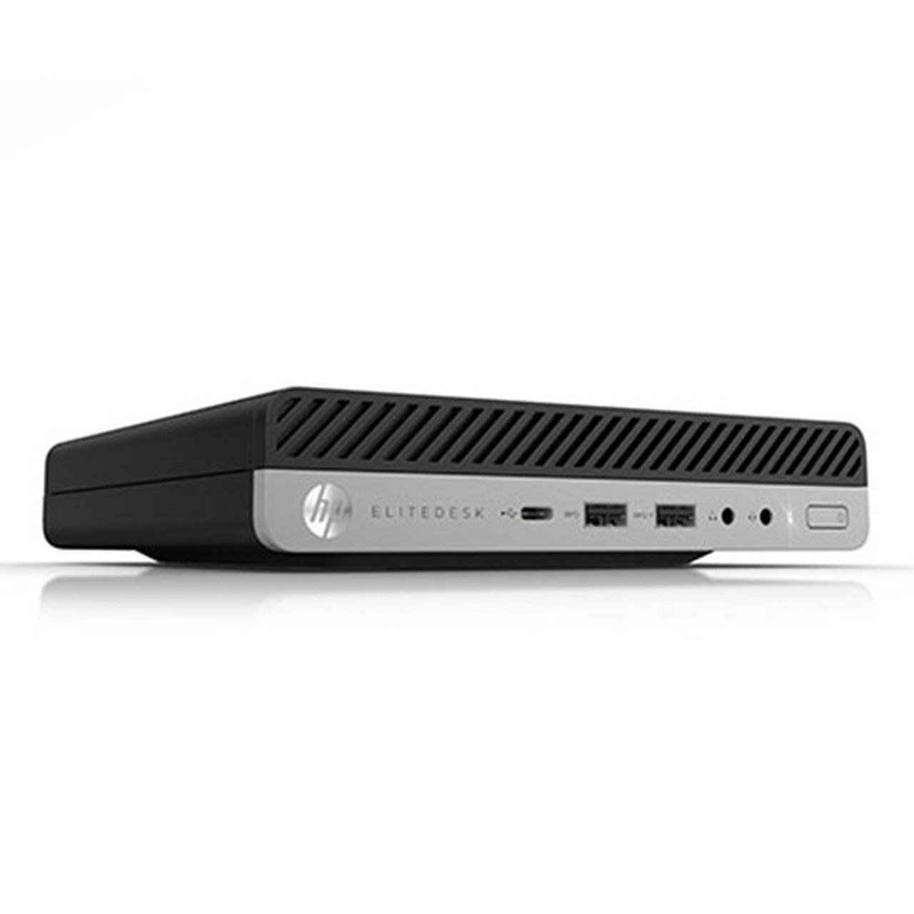 HP EliteDesk 800 G3 Micro Intel i5 6500t 2.50Ghz 8Gb Ram 256Gb SSD Wifi Win 10