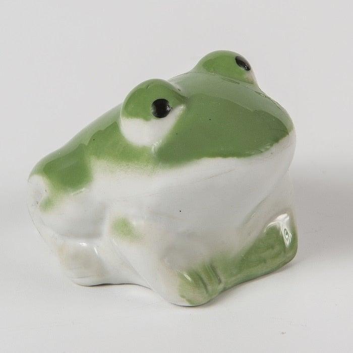 Floating Porcelain Frog