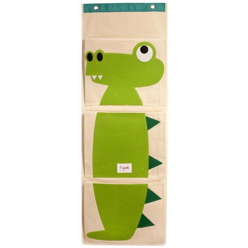 3 Sprouts Wall Organiser - Crocodile