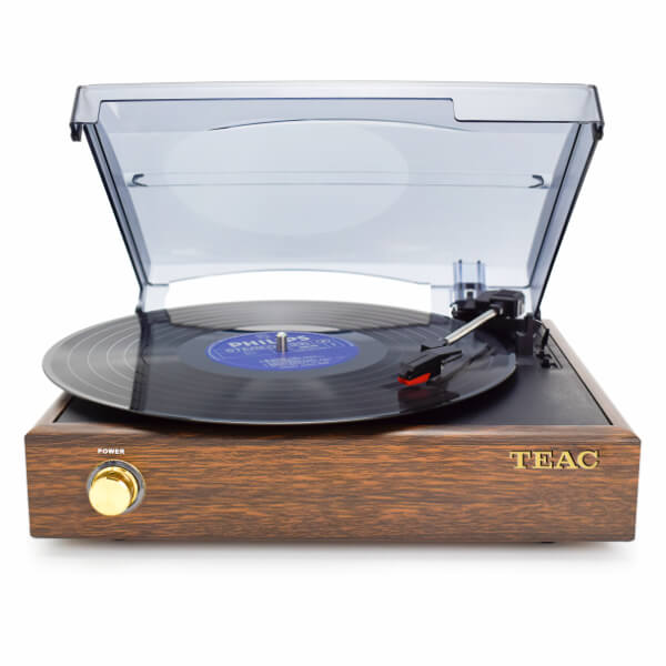 TEAC Record Player with Bluetooth Input - Vinyl Players with Built in Speakers