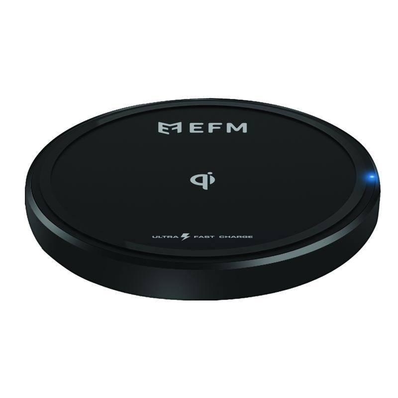 EFM 15W Wireless Charge Pad - With USB to Type-C Charge Cable