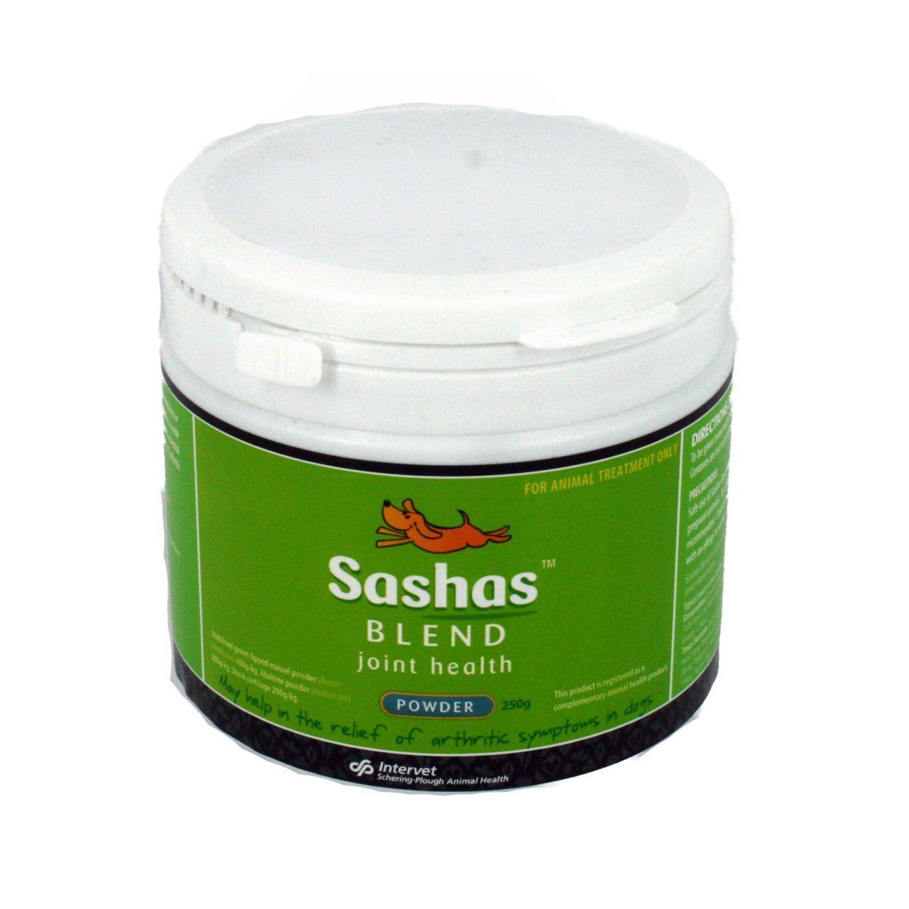 Sasha's Blend Joint Health Powder for Relief of Arthritis in Dogs - 250g