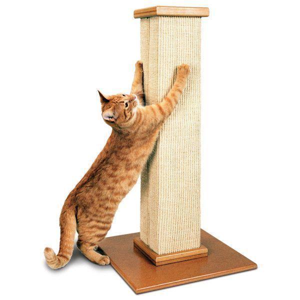SmartCat Ultimate Heavy-Duty Sisal Cat Scratch Post