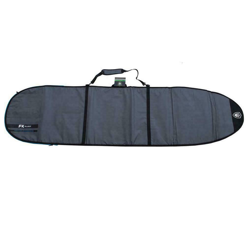 FK 9'6 Longboard Allrounder Surfboard Cover In Silver From Far King Surf