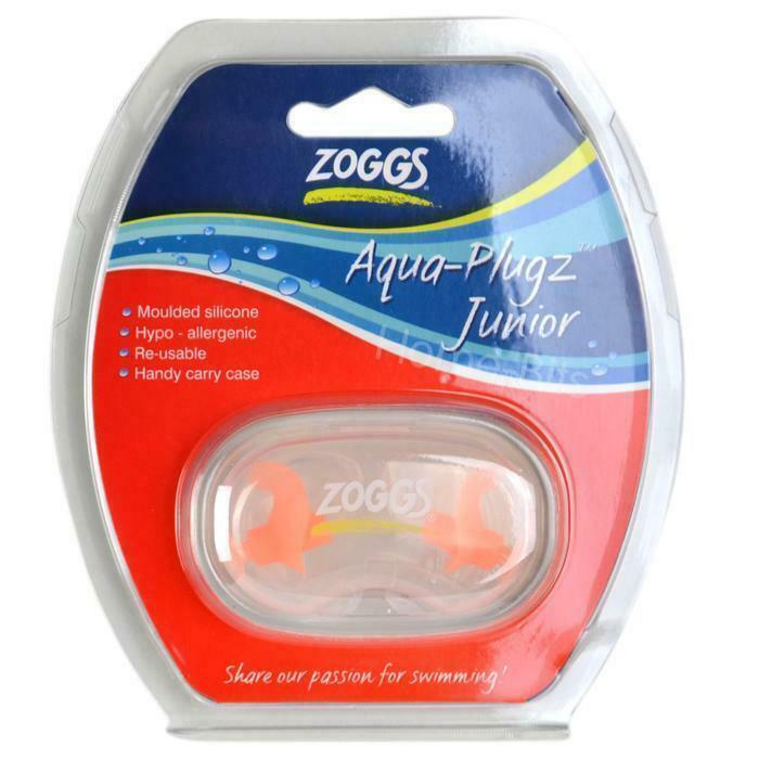 Junior Aqua Plugz For Swimming - Swim Ear Plugs - Swimming Training From ZOGGS