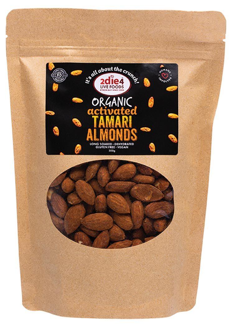 Activated Organic Tamari Almonds 300g