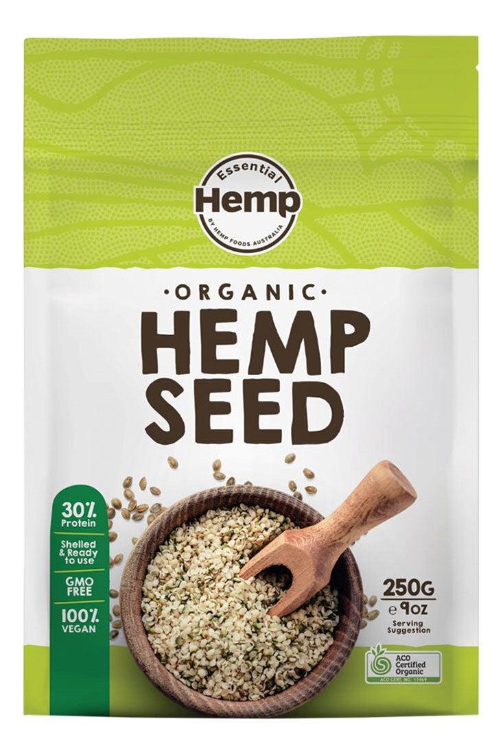 Organic Hemp Seeds 250g