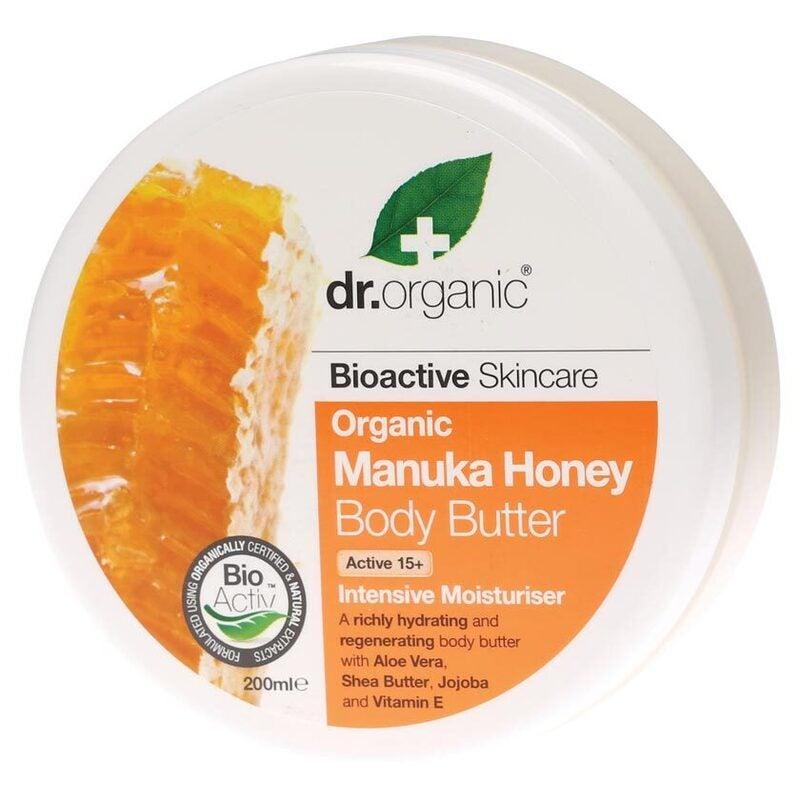 Organic Manuka Honey Body Butter 200ml