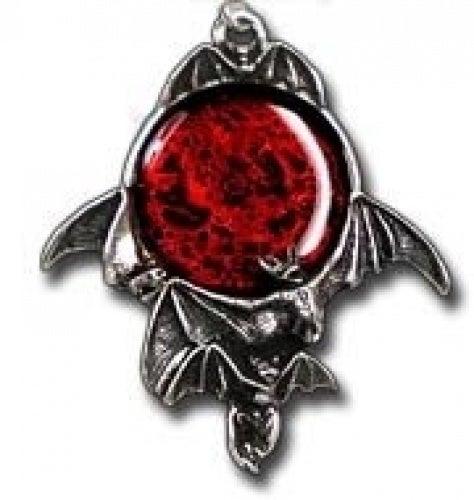 Alchemy Gothic Blood Moon Pendant