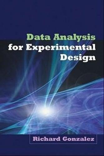 Data Analysis for Experimental Design