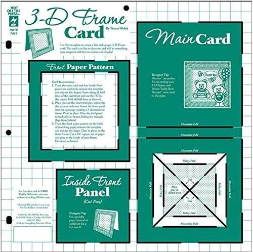 HOTP Template 3-D Frame Card HOTP7451