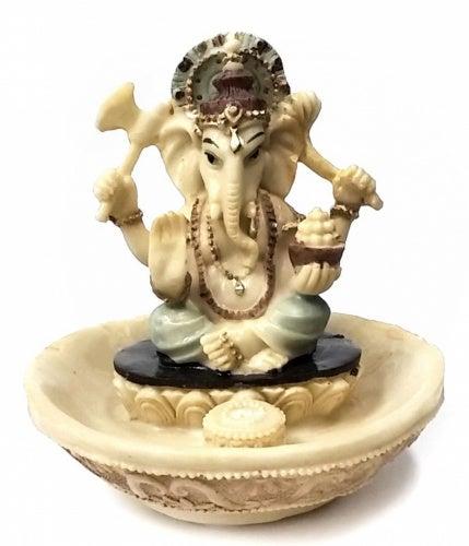 Incense Stick Holder Rare Lord Ganesh Ganesha Beautiful Statues Hindu Good Luck God