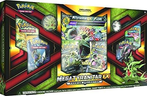 Pokemon TCG Mega Tyranitar-Ex Premium Collection Card Game