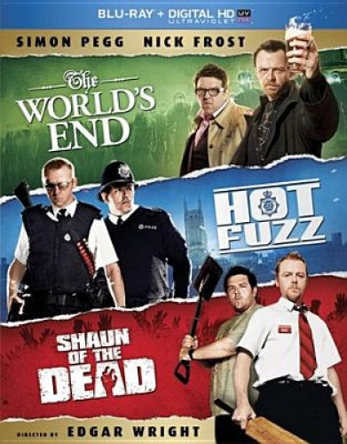 The Three Flavours Cornetto Trilogy: The World's End/Hot Fuzz/Shaun of the Dead [Region 1] [Blu-ray]
