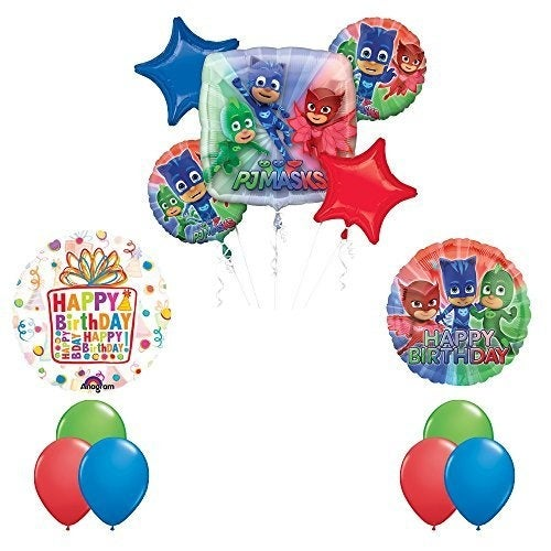 The Ultimate PJ MASKS Birthday Party Supplies and Balloon decorations