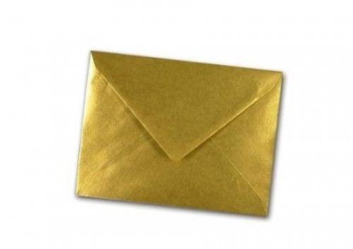 x10 C6/A6 Gold Metalic Pearl Quality Envelopes