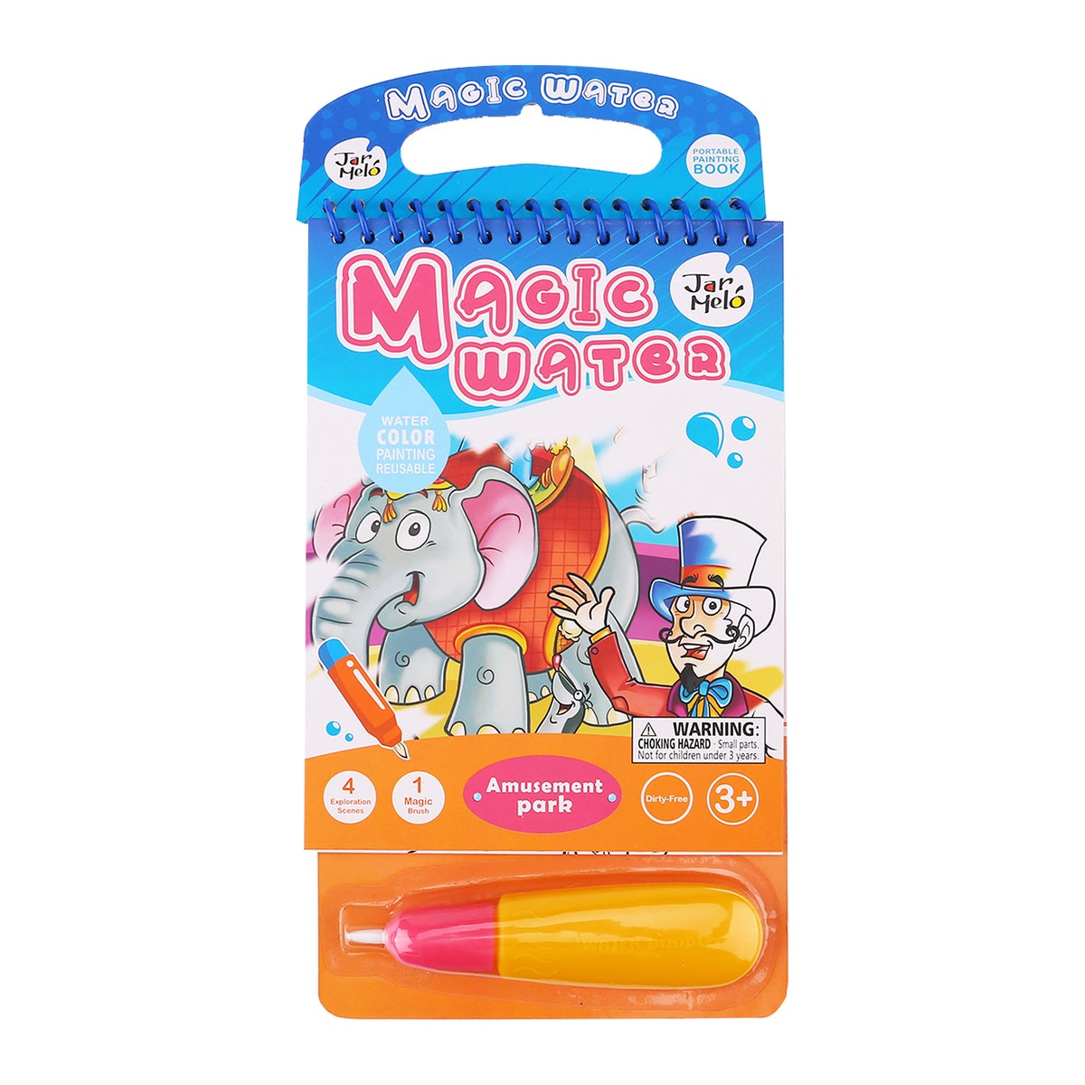 JarMelo - Magic Water Colouring Pad - Amusement Park