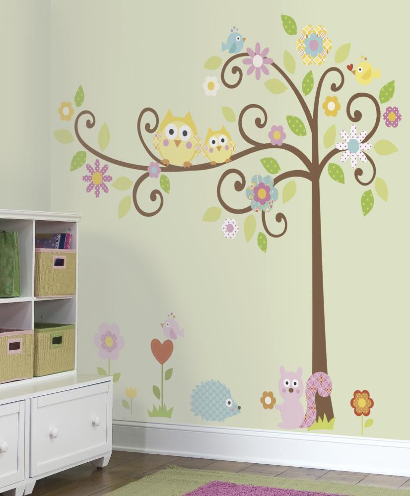 RoomMates Scroll Tree MegaPack Wall Stickers