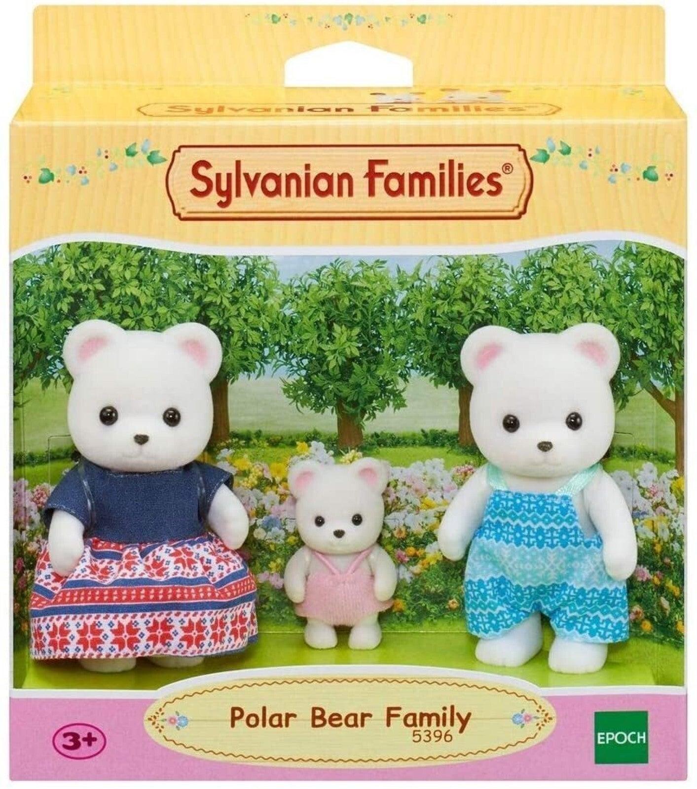 Sylvanian Families Polar Bear Family 3 Figure Set