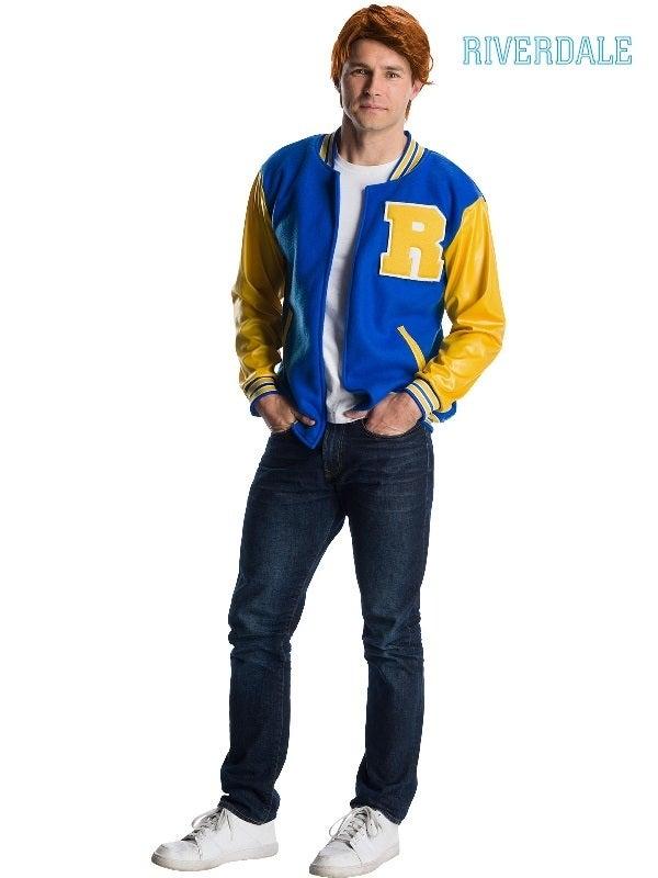 Archie Comics Archie Andrews Deluxe Riverdale Adult Costume