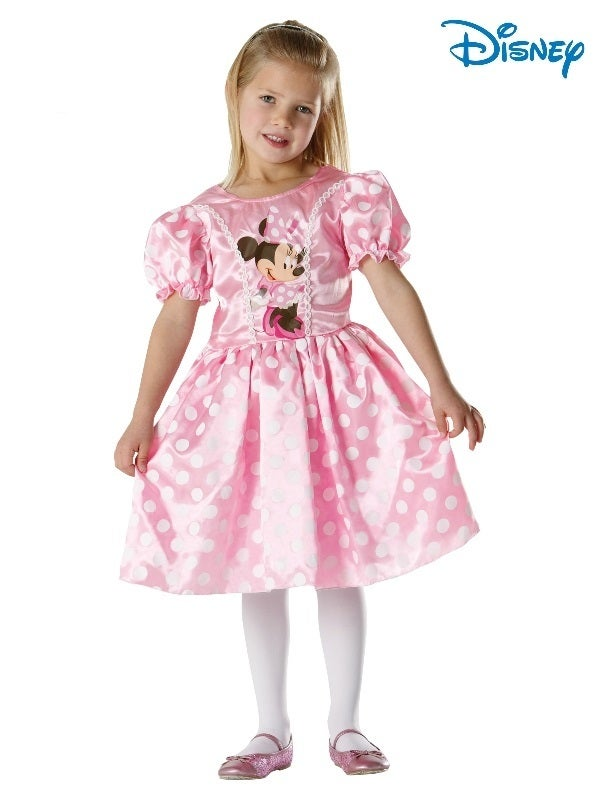 Minnie Mouse Classic Pink Child Costume