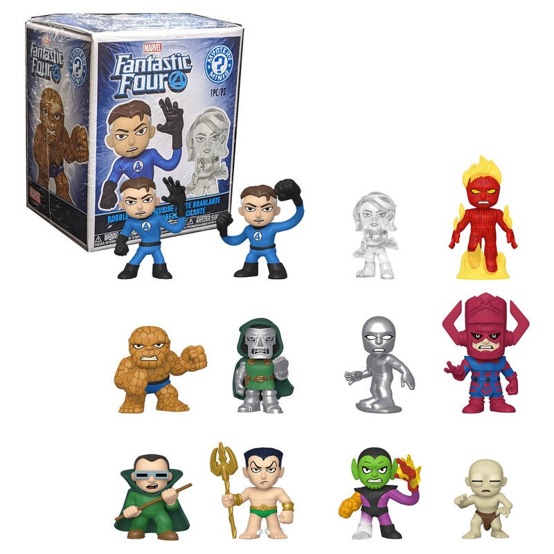 Funko Mystery Minis Marvel Fantastic Four - New, Unopened